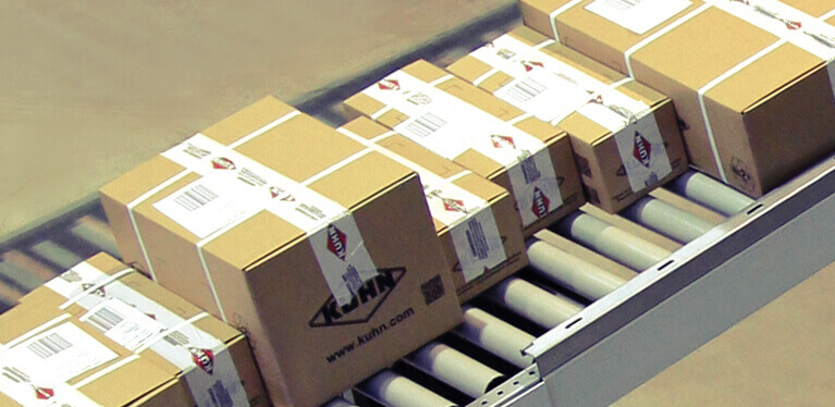 An optimum parts availability and fast delivery