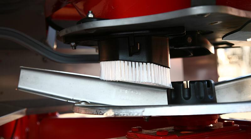 Palettes de distribution KUHN en acier inoxydable